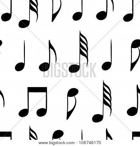 Seamless black notes