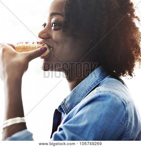 Woman Women Female Girl Be Happy Chill Attitude Concept