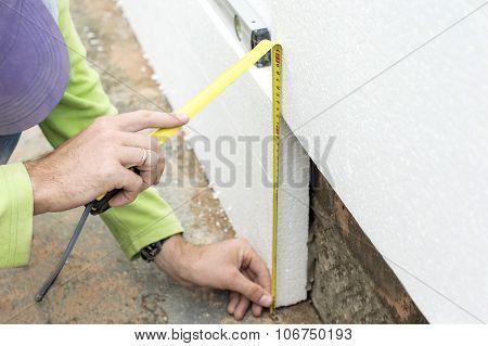 Measure The Height Foam Plastic