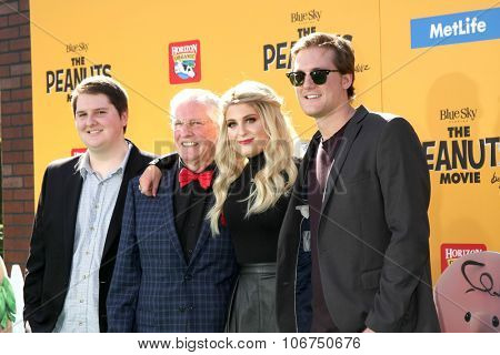 LOS ANGELES - NOV 1:  Gary Trainor, Meghan Trainor, brothers at the