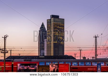 Frankfurt Am Main Train Station