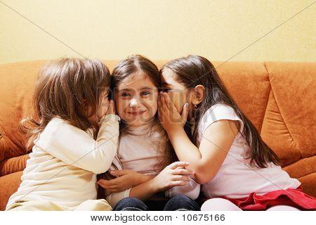 Three Little Tattlers
