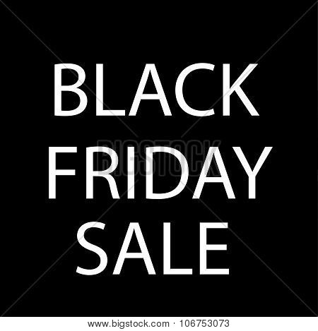 Black Friday sale design element vector illustration