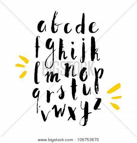 Handdrawn Alphabet