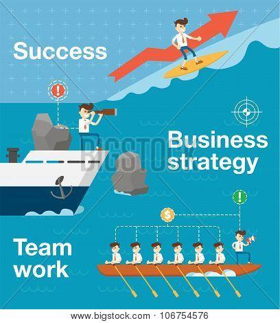 Team work concept