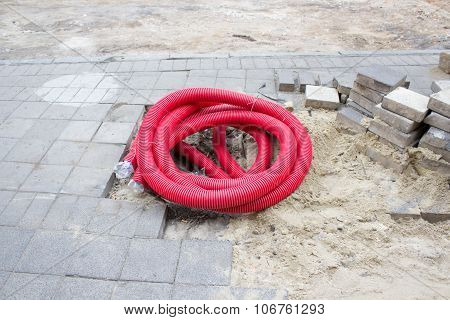 Corrugated Sewer Pipe
