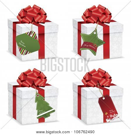 Gift Box Collection With Price Tag