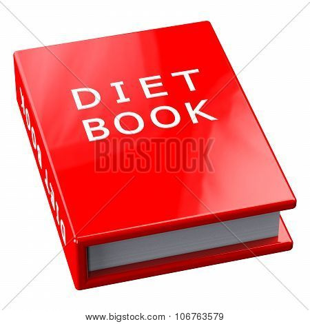 Red Book With Words Diet Book