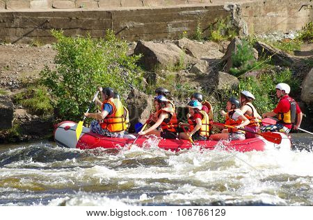 Whitewater Rafting