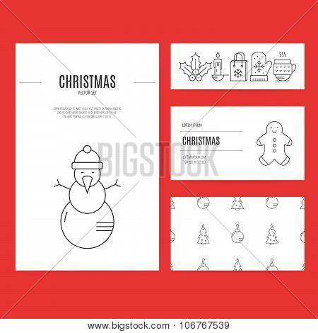 Christmas Business Set