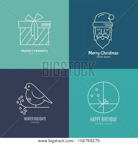 Holiday Logos