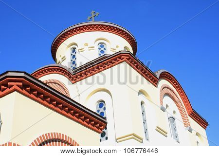 Grgeteg Monastery. Serb Orthodox Monastery (1717) In Grgeteg In The Fruska Gora Mountains, Northern