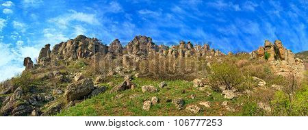 Stony Demerdzhi Mountain Panorama (crimea, Ukraine)