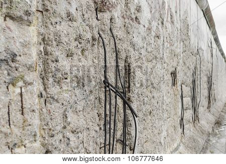 Part of the Berlin Wall.