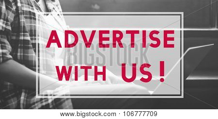 Advertise Commercial Promotion Digital Marketing Concept