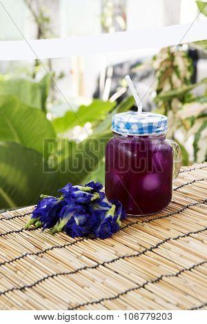Asian Pigeonwings (butterfly Pea) Juice