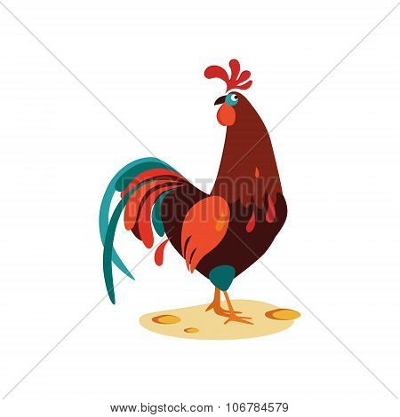Cock Vector Illustration