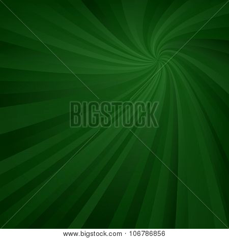 Dark green spiral pattern background