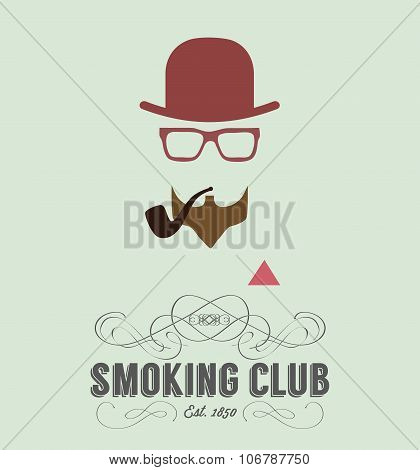 smoking club card