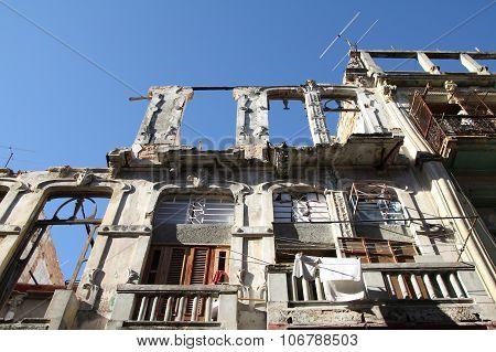 Havana Architecture Ruins