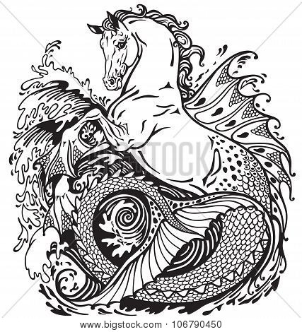 mythological hippocampus