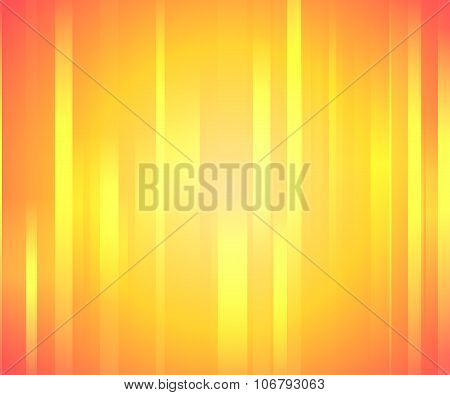 Orange Background with Vertical Lines