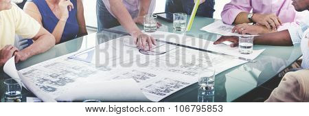 Business People Communication Colleagues Working Concept
