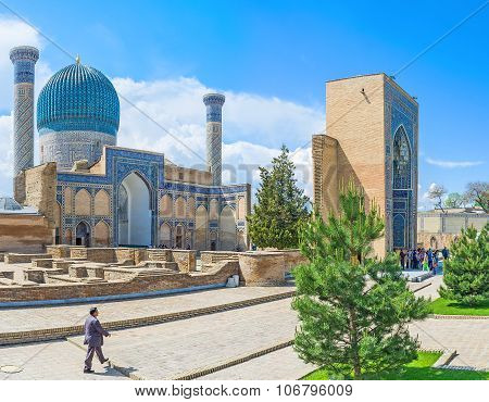 The Mausoleum Of Amir Temur