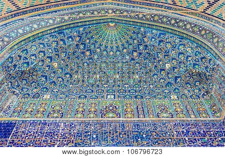 The Blue Tiles