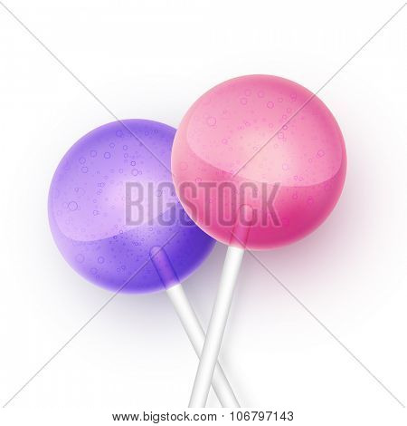 vector lollipop background