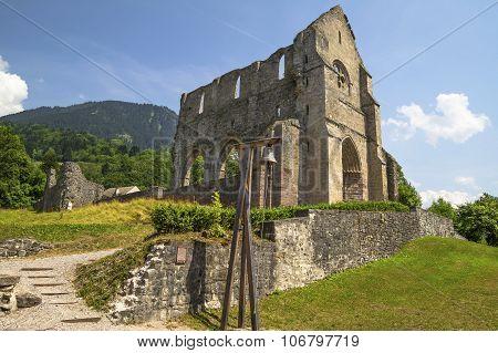 Abbey of Saint Jean d'Aulps  , France
