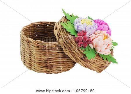 Wicker basket Handmade