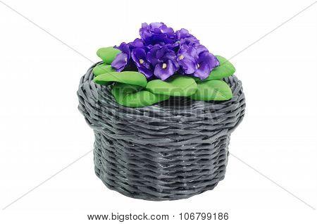 Wicker basketHandmade