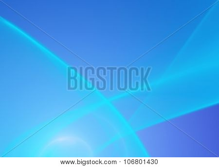 Abstract blue softness smooth background