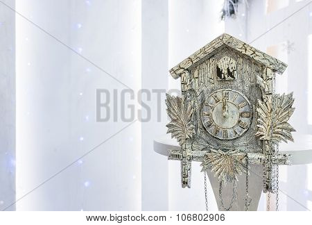 Old Cuckoo Clock In The New Year