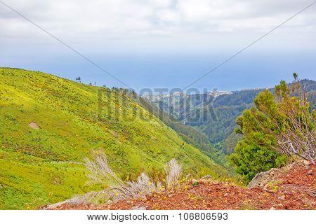 Mountainous West Of Madeira, Portugal
