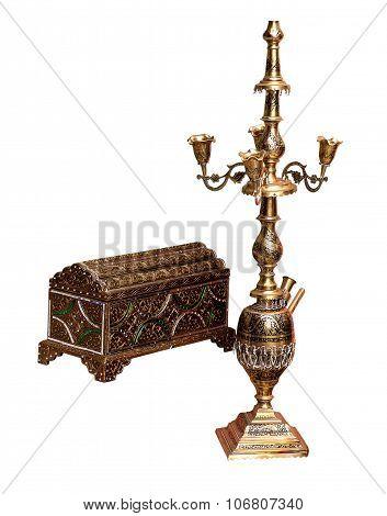 Shisha And Metal Box