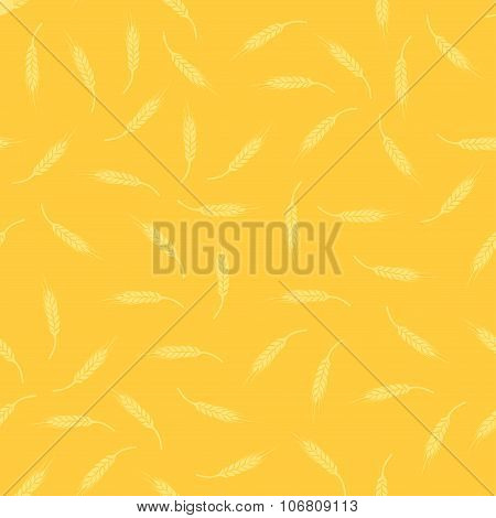 Texture with Ears of Wheat