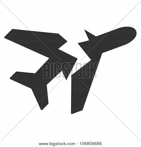 Break Airplane Icon