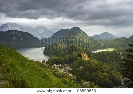 Castle Hohenschwangau in Germany