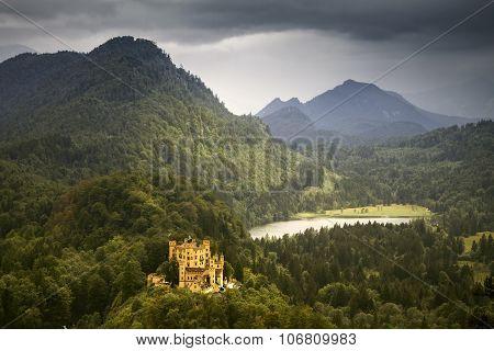 Castle Hohenschwangau in Germany