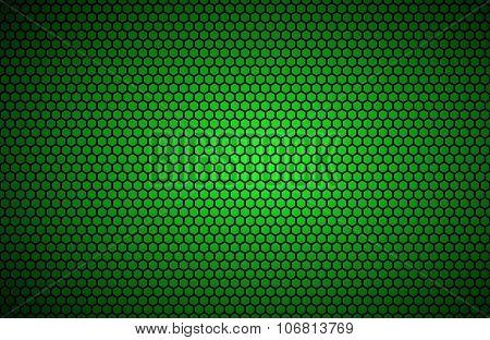 Geometric polygons background abstract green metallic wallpaper
