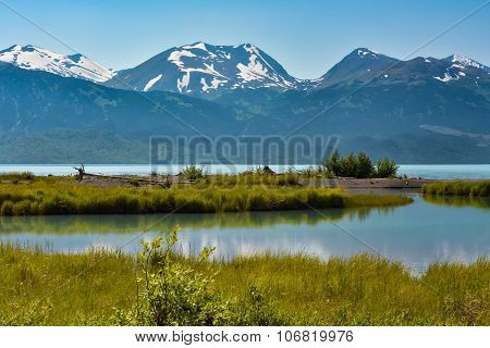Alaskan Mountain Lake