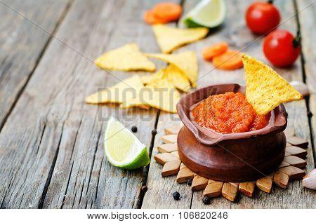 Blended Red Salsa