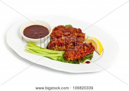 Barbecue Buffalo Chicken
