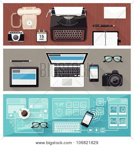 Desktop And Devices Evolution