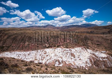 Salinas De Maras, Man-made Salt Mines Near Cusco, Peru
