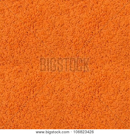 Seamless orange fitted carpet texture.