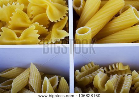 Pasta Of Different Kinds
