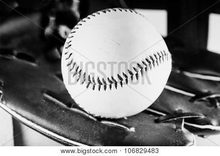 Baseball, Black And White